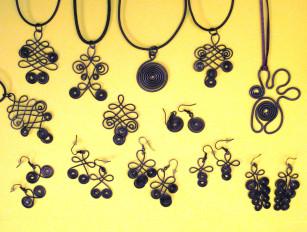 Z drátenické šperkovnice