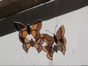 Tiffany motýli
